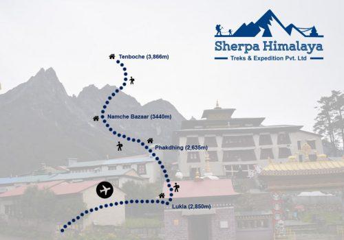 everest-panorama-trek-route-map