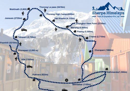 Annapurna-Circuit-Trek-route-map