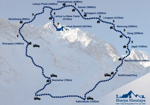 Larke-Peak-map