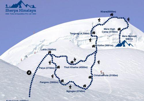 Mera-Peak-map