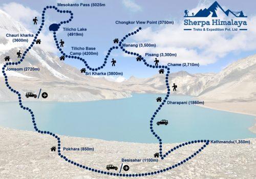 Tilicho-lake-with-mesokanta-pass-trek